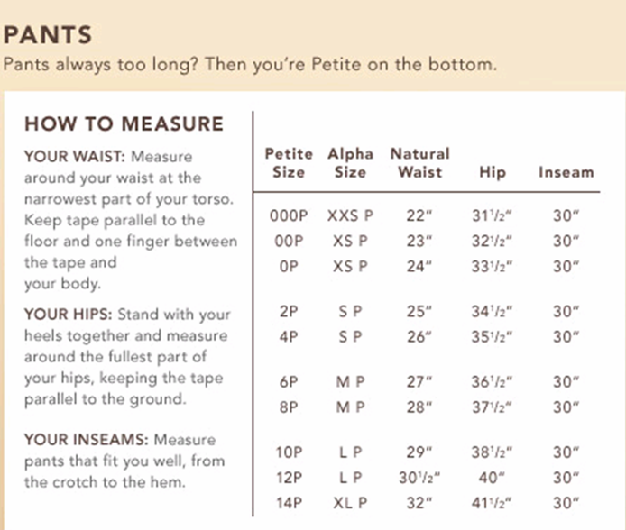 Banana Republic shirts sizing data on the Camden and Grant shirts, including detailed garment measurements and a shirt fit guide for unique to this website.