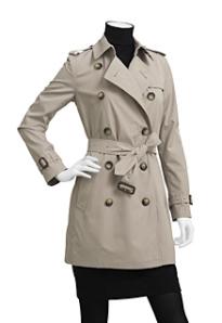 Petite-Friendly Coats: Burberry
